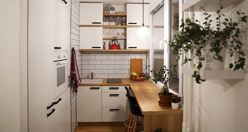 Aménager une petite cuisine | Les bons tuyaux HomeServe