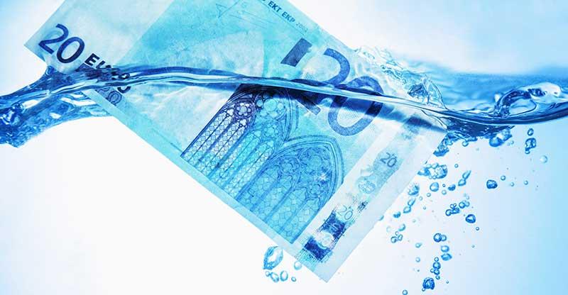Le coût d'une fuite d'eau   Les bons tuyaux HomeServe